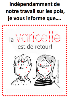 Affiches grippe et varicelle