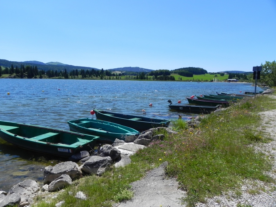 Le lac des Rousses dept du Jura
