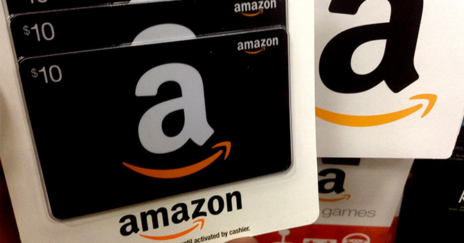 Amazon Gift Cards Codes