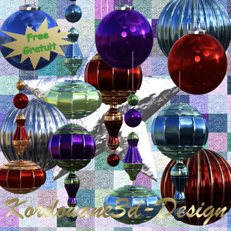 Tube de boules de Noël (image-poser)