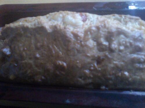 un ptit cake tomate/brebis pour la route