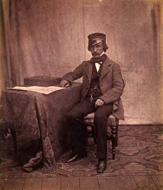 "Crimean War Photographs by Roger Fenton, 1855. ""Dr. Sutherland, Sanitary Commission (CRIMEAN WAR). LC-USZC4-9138:"