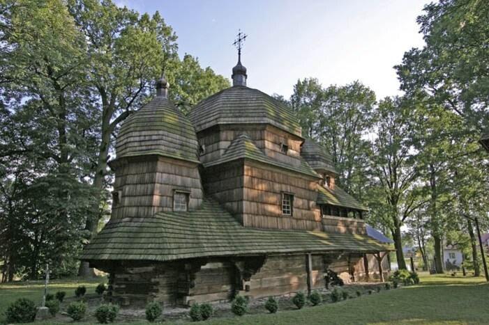Eglises en bois - Pologne