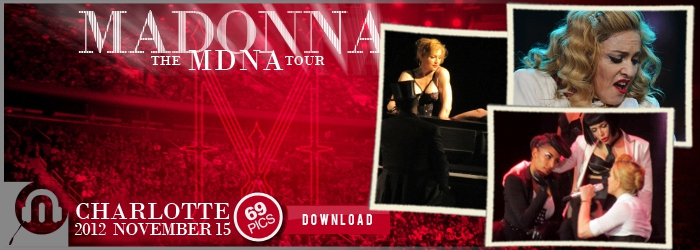 The MDNA Tour - Charlotte - Pictures