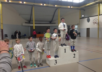 Quatre podiums en ce week-end du 12 mars!