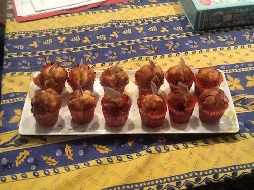 Cupcakes marbrés