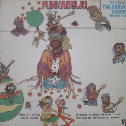 """Funkadelic : Album """" The Best Of The Early Years Volume One LP Westbound Records WB 303 [ US ]"""
