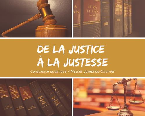 """Lorsque Dieu punissait nos péchés ou """"de la justice Divine à la justesse"""""""