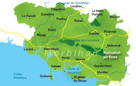 rochefort en terre : village préféré des français