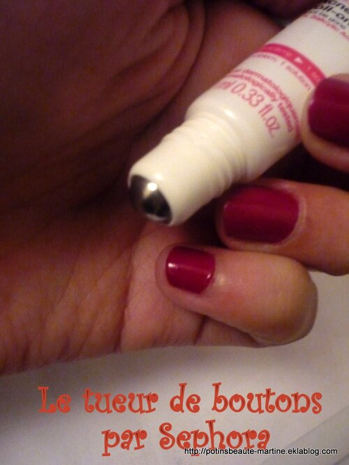 "Roll-On ""effaceur"" imperfections Sephora – le killer de boutons"