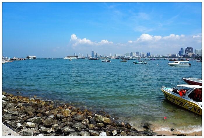 La Baie de Pattaya. Thaïlande