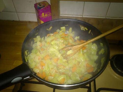 poelée de Kamut aux petits légumes
