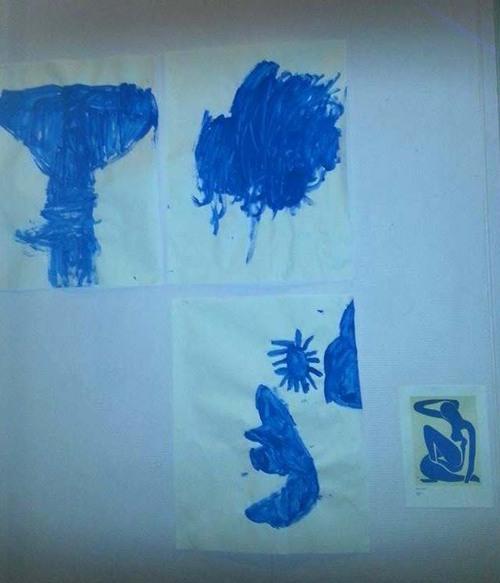 Peinture libre en MS