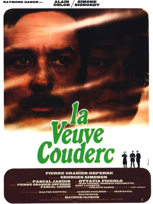 LA VEUVE COUDERC - BOX OFFICE ALAIN DELON 1971