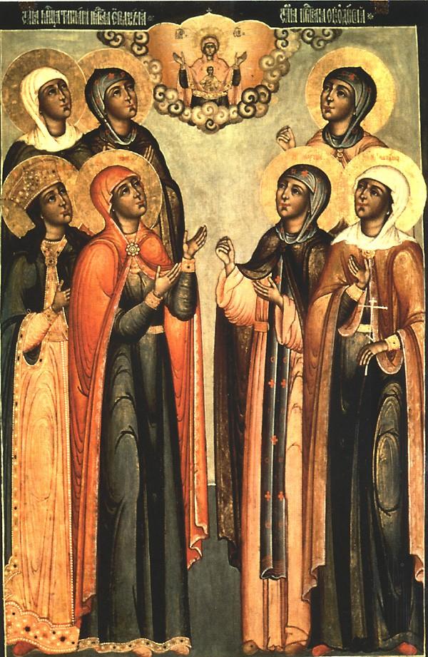 Sainte Nathalie et ses compagnons, martyrs à Cordoue († 852)