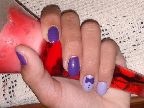 Nail Art Papillon :3