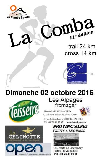Prochaine course   La Comba