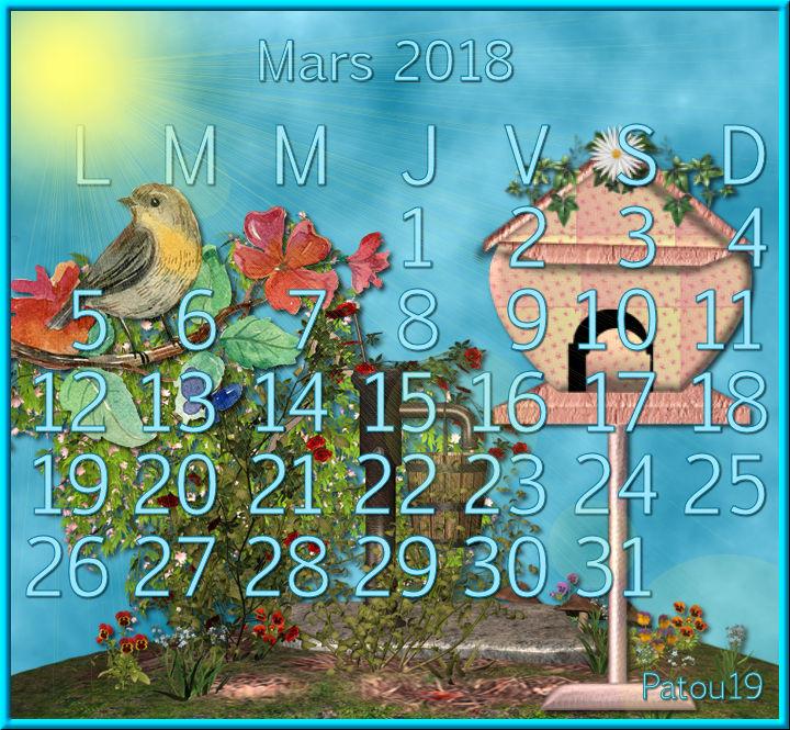 Défis calendrier