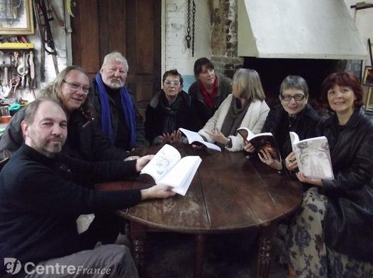 l'Echo du 25 nov 2012 article sur le lancement des contes et légendes 2