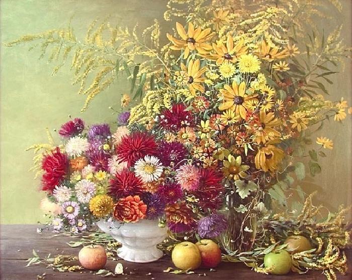 Bouquet d'automne.  Auteur: Marina Zakharova.