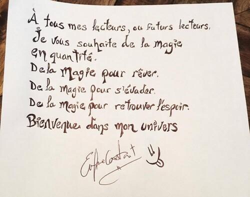 BONUS : Évelyne Contant nous parle de sa série « Enchantement »