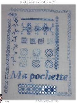"""Une création sortie de ma tête : """"Ma Pochette"""" = Montage final"""