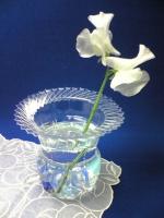Vase en bouteille plastique