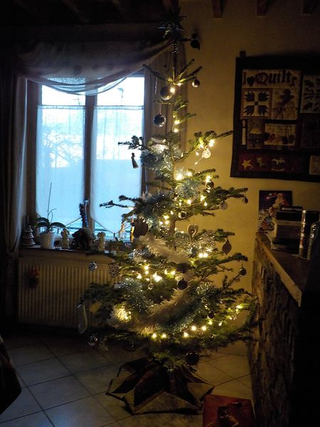Déco de Noël.