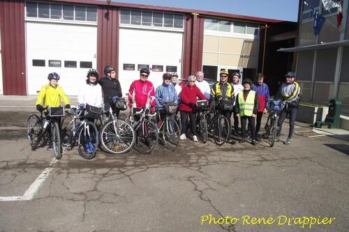 Début de saison 2013 au club Cyclotouriste de Châtillon sur Seine