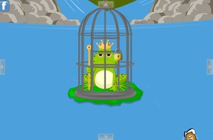 Jouer à King frog escape