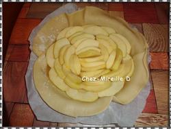 Tarte Rustique Pommes Compote
