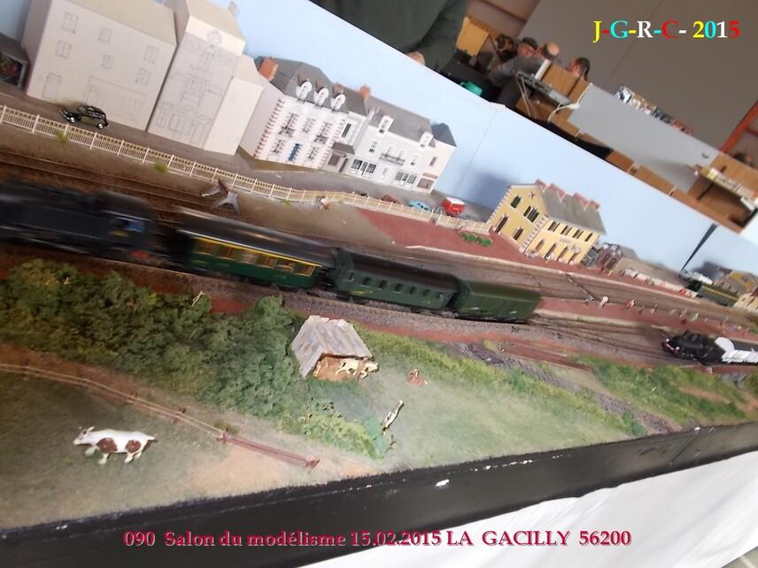 ANIMATION  LA GACILLY  56200    SALON DU MODELISME  08/06/2015
