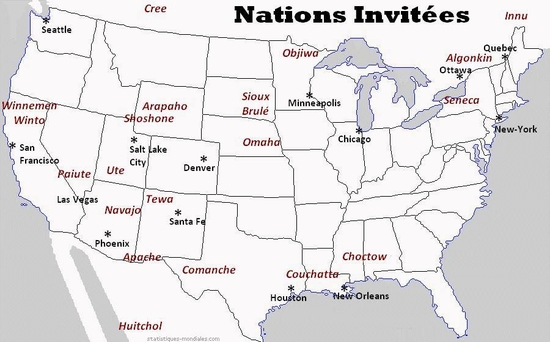 Nations invitées