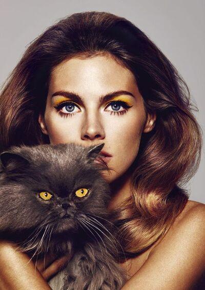 Mlle et son chat