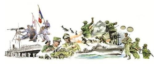 * Association Les Polynésiens dans la guerre Exposition dédiée aux Poilus tahitiens