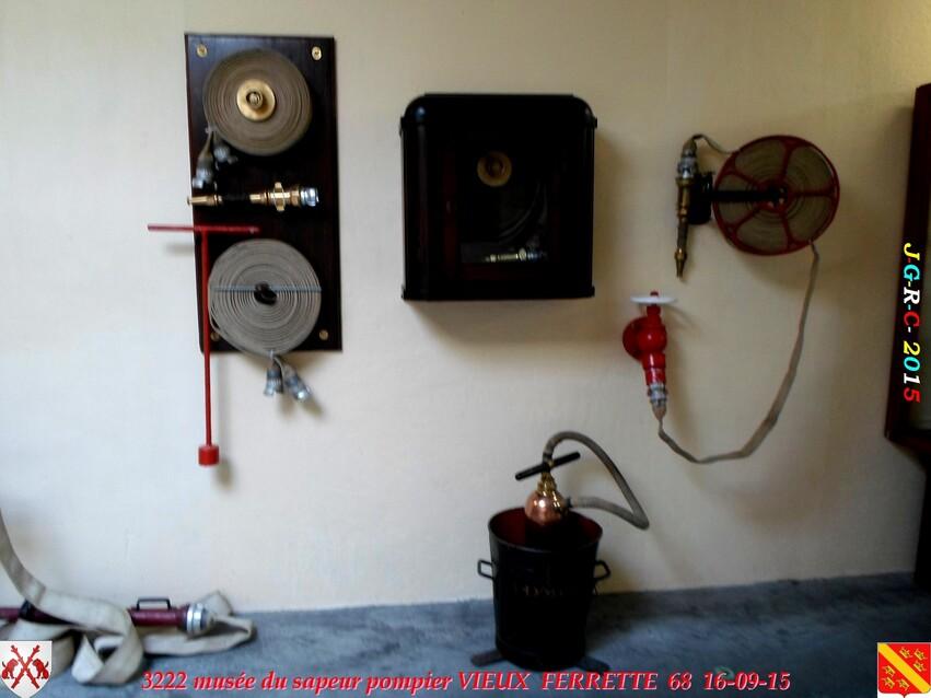 Musée du Sapeur Pompier d'ALSACE  1-3  16/26   VIEUX FERRETTE  68   D  28-02-2017