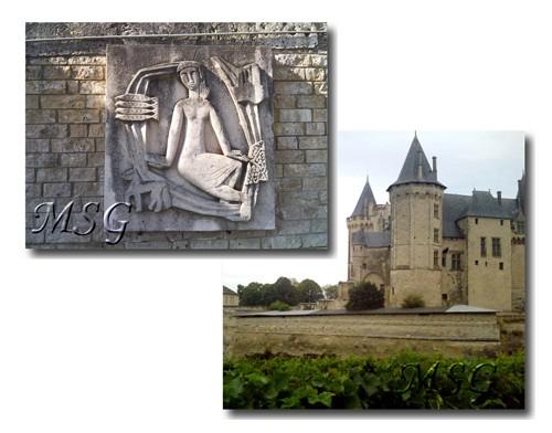 Saumur , symboles