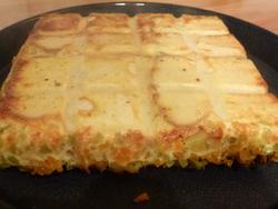 Croque tablette courgettes carottes et raclette
