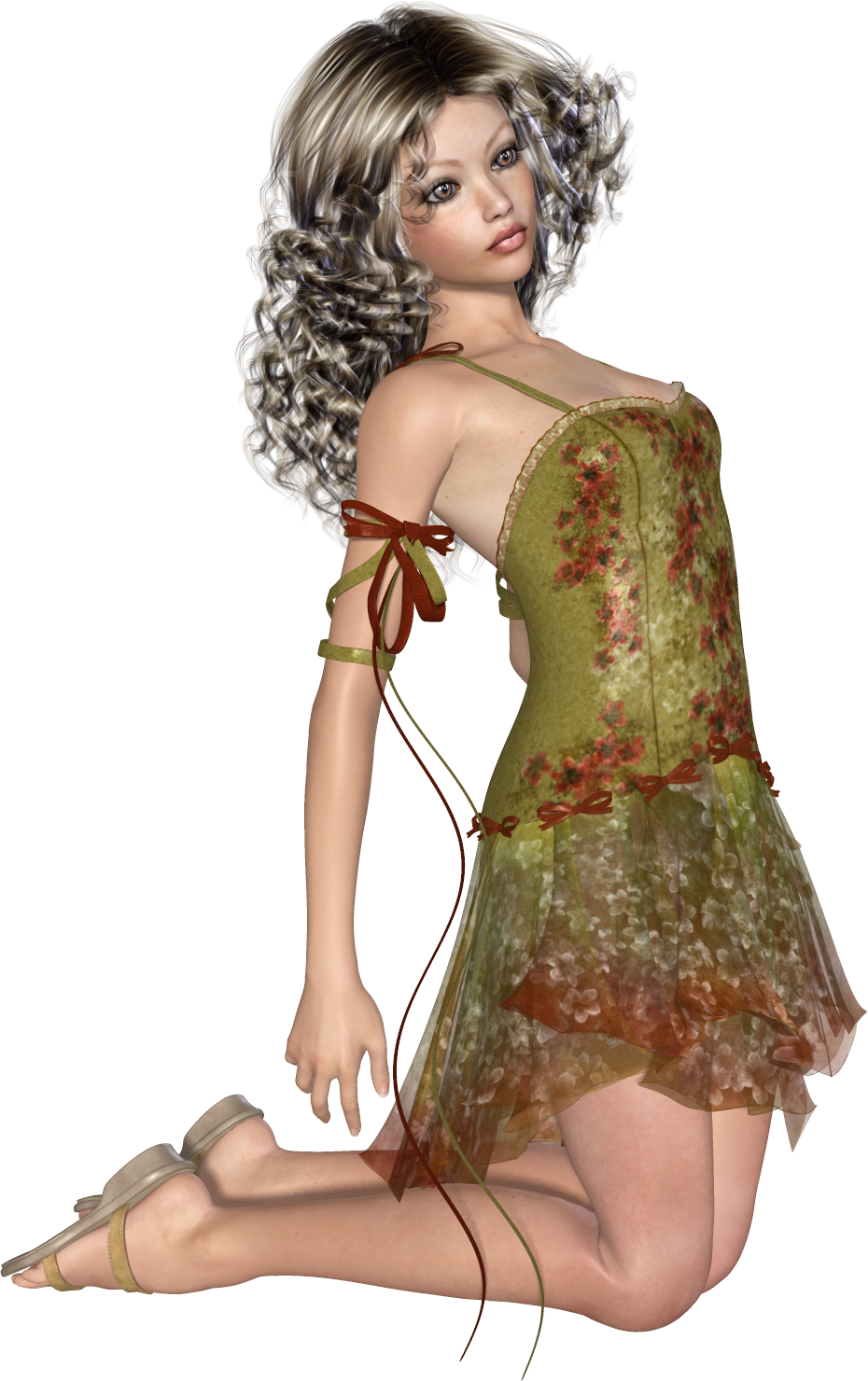 Tubes Femme 3D