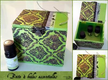 Boîte à huiles essentielles