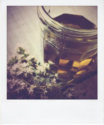 Fougasse au thym citron