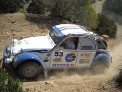 2 CV RAID TUNISIA 2010