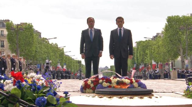 Une image forte parfaitement représentative de la France forte.