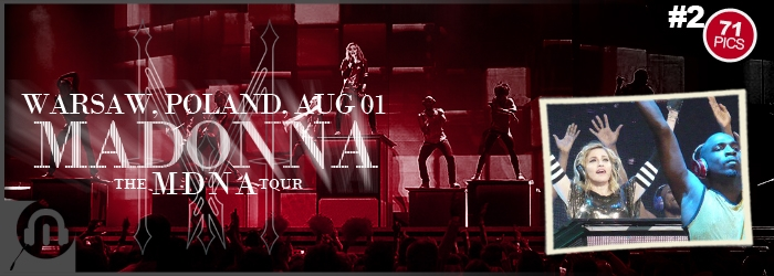 The MDNA Tour - Warsaw - Pictures 2