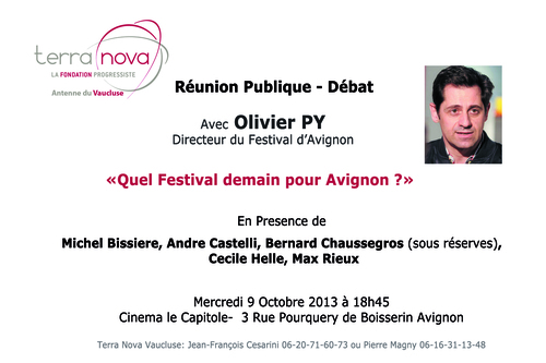 Reunion Publique du 9 Octobre