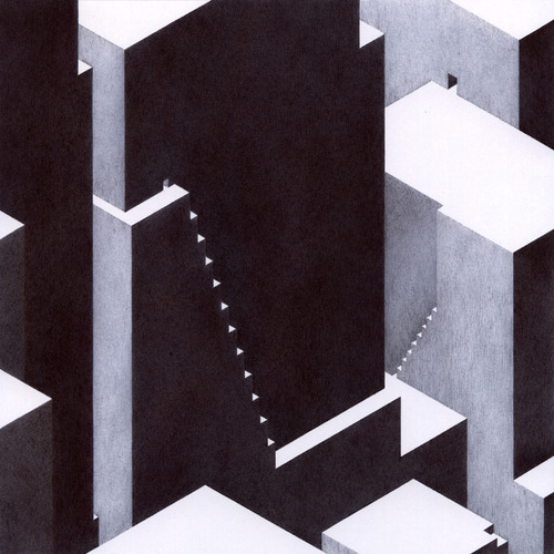 cité#6, dessin stylo bille, anabelle soriano