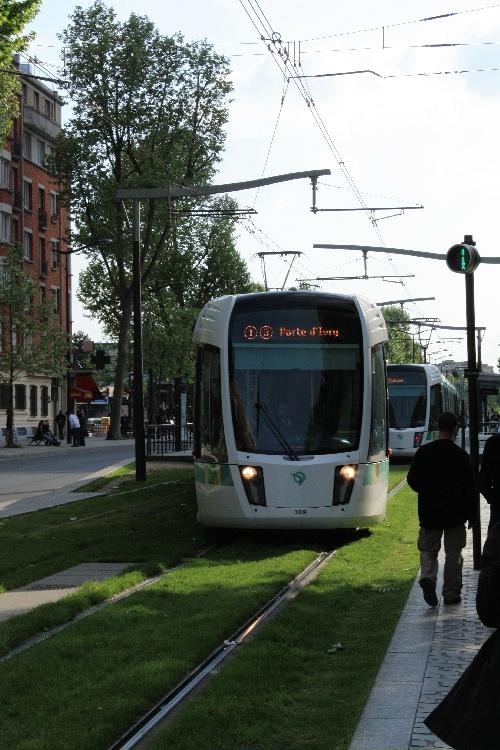 Tram Porte d'Ivry
