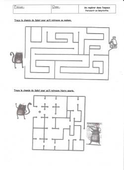 Joyeux Noël Splat ! : Labyrinthe 1 ...