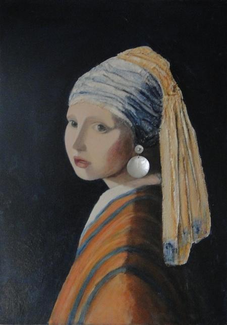 Réproduction d'oeuvres de grands peintres