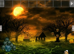 Jouer à Halloween runic skull point escape